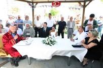 DÜĞÜN KONVOYU - Başkan Yaşar, Vosvos Sever Çiftin Nikahını Kıydı