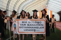 ŞEYH EDEBALI - Bilecik Şeyh Edebali Üniversitesi Meslek Yüksek Okullarındaki 974 Öğrenci Kep Attı