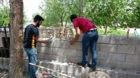 KARDEŞ OKUL - Birecik MYO Köy Okulunun Tadilatını Yaptı