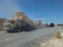 AKTOPRAK - Büyükşehir, Harran Kırsalında Asfalt Serimine Başladı