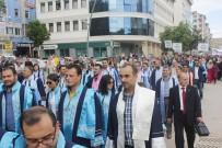 Çankırı Karatekin Üniversitesinde Mezuniyet Coşkusu