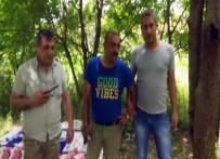 Cezaevi Firarisi Katil Zanlısı Ormanda Saklanırken Yakalandı