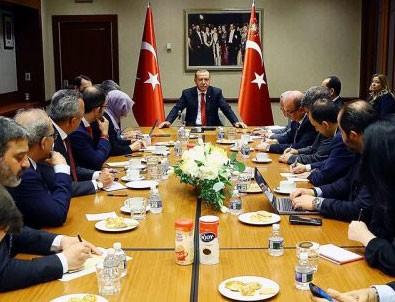 Cumhurbaşkanı Erdoğan ABD temaslarını anlatıı