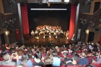 TÜRK MÜZİĞİ - Düzce Üniversitesi'nde Türk Halk Müziği Konseri Gerçekleştirildi