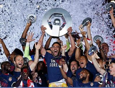 Fransa'da şampiyon Monaco