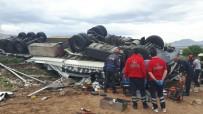 Kayseri'de Zincirleme Trafik Kazası Açıklaması 8 Yaralı