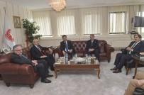 SİYASİ PARTİLER - Kılıçdaroğlu'dan Demokrat Parti'ye Ziyaret