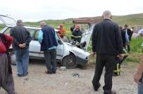Kırıkkale'de Trafik Kazası Açıklaması 1 Ölü, 2 Yaralı