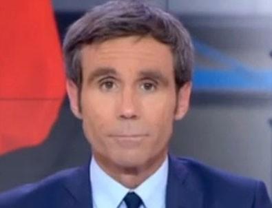 Macron'a soru soran gazeteci kovuldu