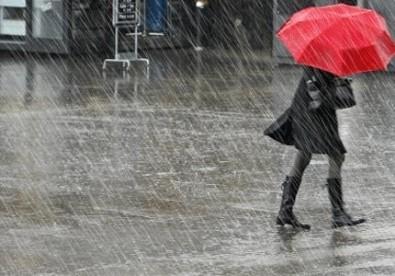 3 şehir için kuvvetli yağış uyarısı