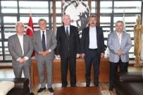 Milletvekili Mustafa Balbay Başkan Kurt'u Ziyaret Etti
