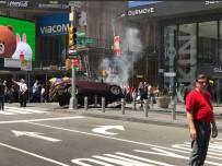 TERÖR EYLEMİ - New York'ta Araç Yayalara Çarptı Açıklaması 1 Ölü,  10 Yaralı