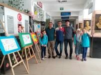 Öğrencilerden 'Resimlerle Kırk Hadis' Sergisi