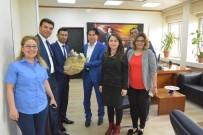 Öz Büro İş, Genel Sekreter Çömçe'yi Ziyaret Etti
