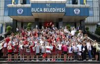 BUCA BELEDİYESİ - Piriştina Öğrencilere Belediyeciliği Anlattı