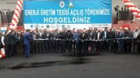 Rize'de İçme Suyu Arıtma Tesisinde Kurulan 'Enerji Santrali' Törenle Açıldı