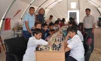 SATRANÇ FEDERASYONU - Samsat'ta Satranç Turnuvası Düzenlendi