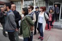 ADNAN MENDERES - Samsun'da Açlık Grevine Destek İçin Eylem Yapan 10 Kişiye Gözaltı