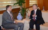SARAYBOSNA - Saraybosna Büyükşehir Belediye Başkanı Skaka'dan Başkan Akyürek'e Ziyaret