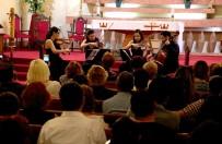 RAHİP - Saygun Quartet'ten Tarihi Kilisede Konser