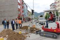 KAMERA SİSTEMİ - Seydişehir'de MOBESE Kamera Çalışmaları Başladı