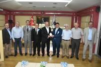 FAHRI ÇAKıR - SGK İl Müdürü Köroğlu DTSO'yu Ziyaret Etti
