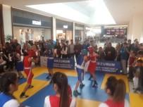 BOKS - Spor Gösterileri AVM'lere Taştı