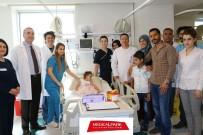 BEYİN KANAMASI - Suriyeli Minik Meryem Sağlığına Kavuştu