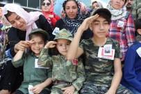ANAOKULU ÖĞRENCİSİ - Üç Yetimden Babalarına Asker Selamı