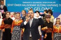 ÜMRANİYE BELEDİYESİ - Ümraniye'de 9'Uncu Geleneksel Spor Oyunları Festivali Sona Erdi