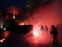 VERGİ MUAFİYETİ - Yunanistan karıştı! Nöbetçi kulesini yaktılar