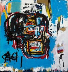 ABD'li Ressam Jean Michel Basquiat'ın Tablosu 110.5 Milyon Dolara Satıldı
