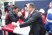 Ağrı'da 19 Mayıs Stantları İlgi Odağı Oldu
