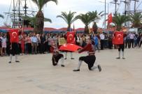 ATATÜRK ANITI - Alanya'da 19 Mayıs Coşkuyla Kutlandı