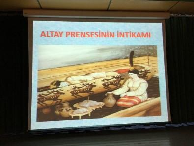 Altay Prensesinin İntikamı' Belgesel Film Gösterimi Yapıldı