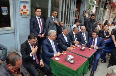 Bakan Arslan Iğdır'da Esnafı Ziyaret Etti