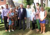 ÇAVUŞOĞLU - Bakan Çavuşoğlu Alanya'daki Yerleşik Almanlarla Görüştü