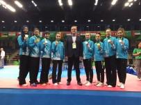 METIN ŞAHIN - Bakü'de Tüm Kadın Tekvandocular Madalya Kazandı