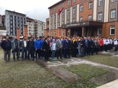 Baro Başkanı Avukat Ay, 19 Mayıs Törenine Ardeşen'de Katıldı