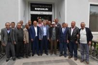 MEHMET CAN - Başkan Akay'a Yenipazar Bölge Çiftçilerinden Destek
