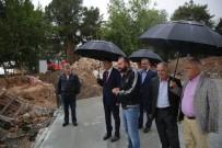 ÇAY BAHÇESİ - Başkan Türel, Cumhuriyet Meydanı Ve Şarampol Projelerini İnceledi