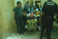 MAHSUR KALDI - Cami Hırsızı Kaidede Mahsur Kaldı
