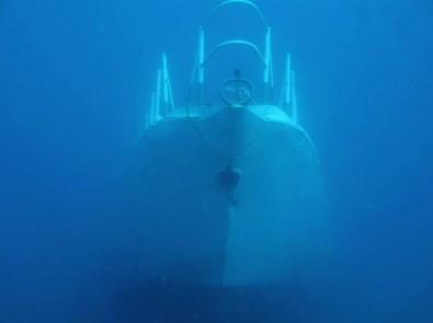 Çeşme'de Batırılan Gemide Sergi Açılacak