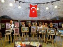 HACI MEHMET KARA - Çeşme Kalesi'nde Kaat-I Sanatı Ve İğne Oyası Sergisi
