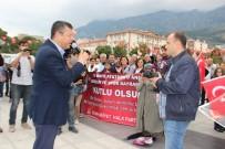 EĞITIM İŞ - CHP'liler Güzergahı Beğenmedi, Trafiği Felç Etti