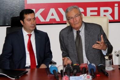 Deniz Baykal Kayseri'de