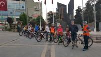Develi'de Bisiklet Turu İle Tarihi Mekanları Gezdiler