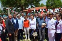 Didim'de Zübeyde Hanımın Heykeli 19 Mayıs'ta Adının Verildiği Parkta Açıldı