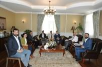 ERZURUM VALISI - Erzurum Gençlik Platformu'ndan Vali Azizoğlu'na Ziyaret