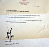 FATİH TERİM - Fatih Terim'den Evkur Yeni Malatyaspor'a Kutlama Mesajı